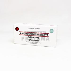 AMLODIPINE 5MG BERNO
